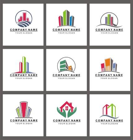 real estate: Real Estate Logo Templates