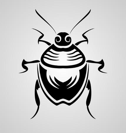 bug's: Bugs Tribal Illustration