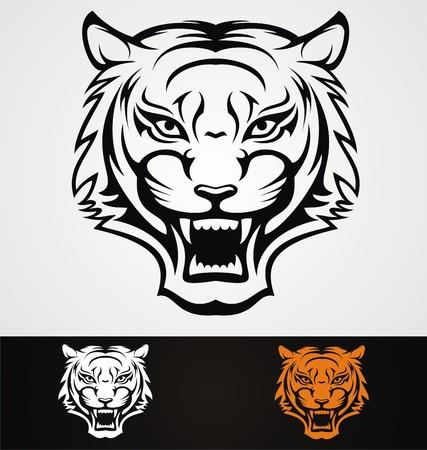 tribalism: Tiger Head