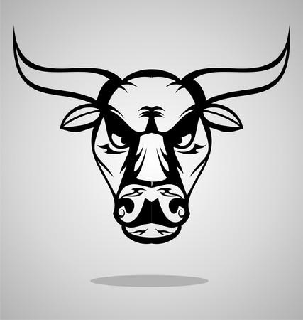 wilds: Bulls Head Tattoo Design