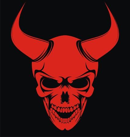 ghostlike: Red Devil Skulls