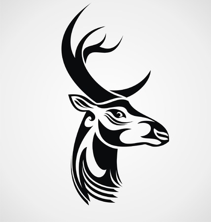 tribalism: Tribal Deer Head