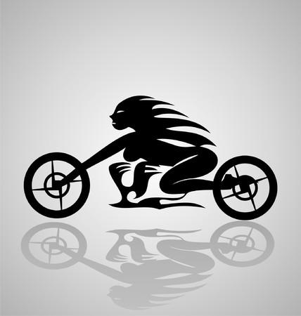 tribalism: Tribal Motorcycle Girl
