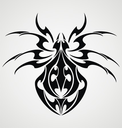 spiders: Spiders Tattoo Design