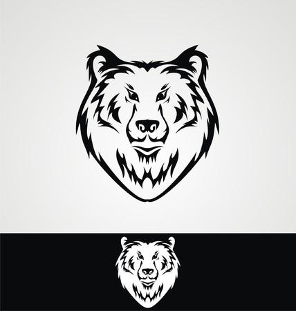 tribalism: Bear Face Tribal