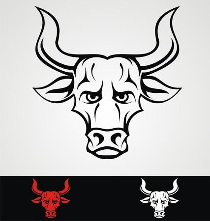 wilds: Bulls Head Tribal Mascot