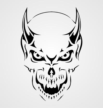 tribalism: Devil Skull