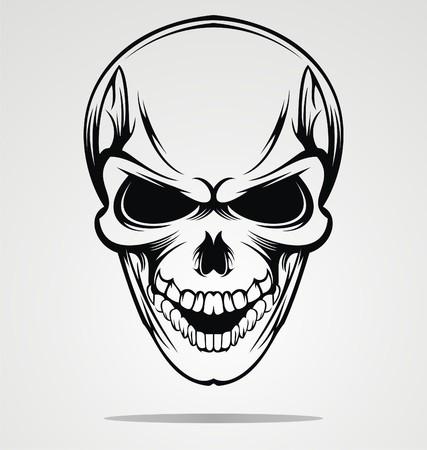 tribalism: Tribal Skulls