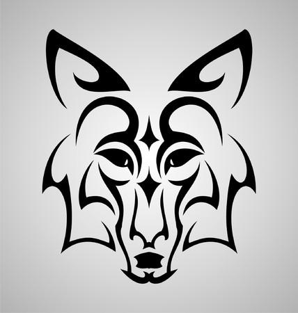 tribalism: Fox Head Tattoo