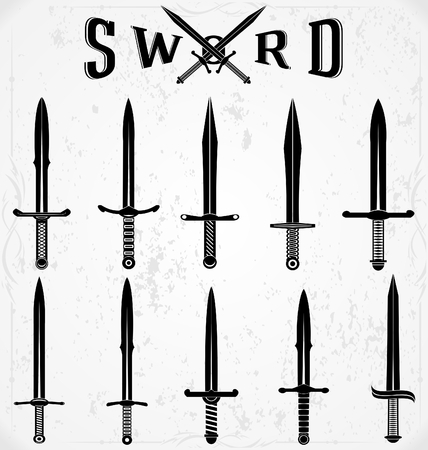 silhouettes: Sword Silhouettes
