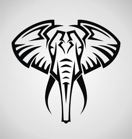 tribalism: Tribal Elephant