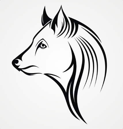 tribalism: Tribal Wolf