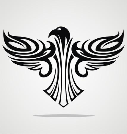 eagle flying: Flying Eagle Tribal