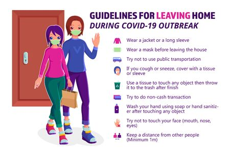 Guidelines for leaving home during covid-19 outbreak