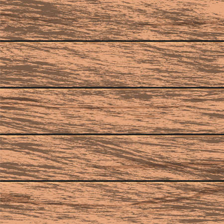 Hand drawn aged brown wood fence texture background wallpaper
