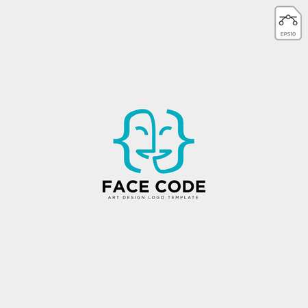 masque de théâtre acteur logo modèle vecteur icône élément - vecteur