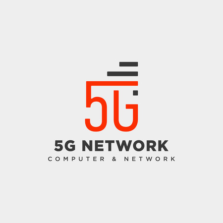 4g network creative logo template vector illustration icon element isolated - vector
