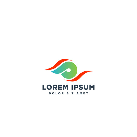 logotype letter SP simple logo template vector illustration - vector  イラスト・ベクター素材