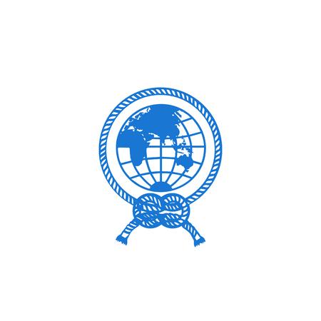 globe logo icon design vector illustration icon element - vector Illustration
