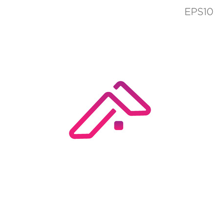 simple home logo or icon symbol vector isolated - vector