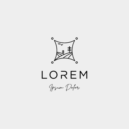 free Landscape Logo design for landscaping company
