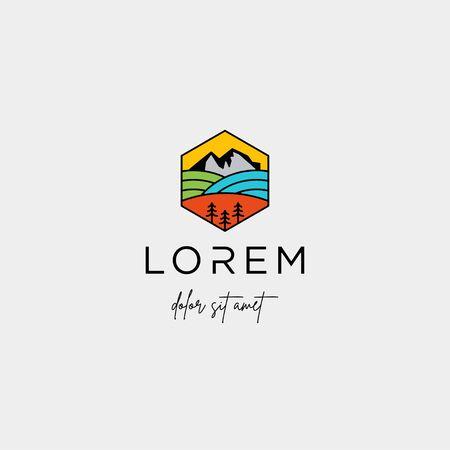 Landscape Logo design for landscaping company