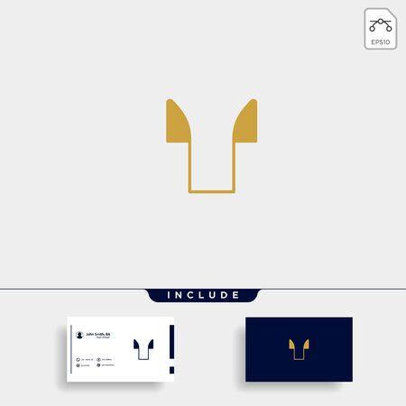 Initial T Clothing or T shirt Logo Template Vector Design Illustration Stok Fotoğraf - 133783054