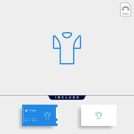 Initial T Clothing or T shirt Logo Template Vector Design Illustration