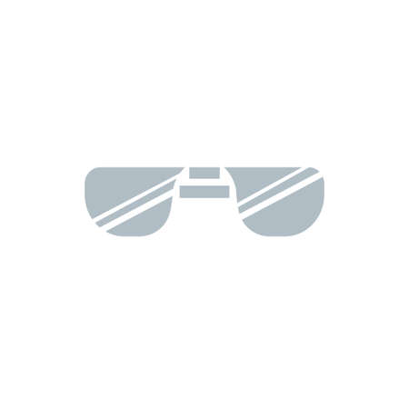 Sun Glasses Icon Clipart Vector Design illustration