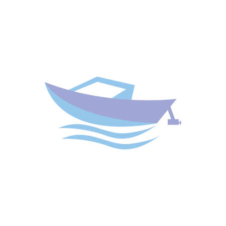 Boat Clipart Vector Design Isolated