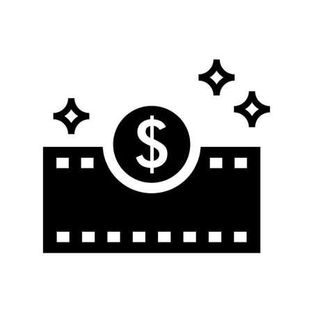 cash dollar currency vector icon Ilustração