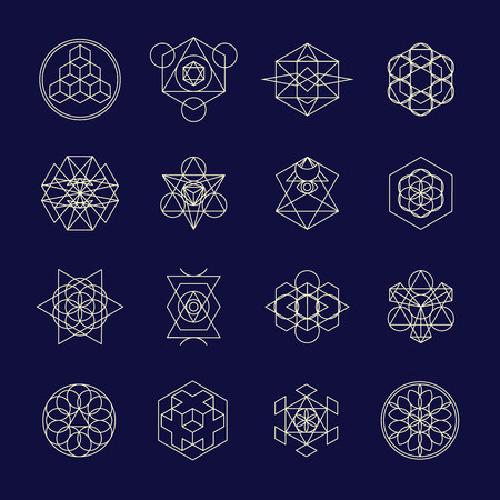 combinations: Beautiful combinations of shapes related to alchemy, religion, philosophy. For t-shirt, phone cases, fabric, wallpapers and etc.