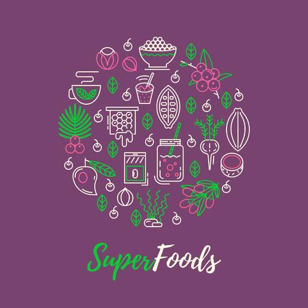 maca root: Acai, cocoa, goji, guarana, spirulina, coconut, quinoa, camu camu. Organic superfoods for health and diet. Detox and weightloss supplements.