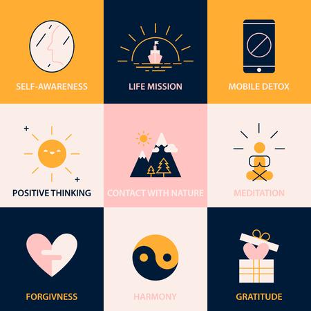 간단하고 행복한 삶의 열쇠 팁. 행복을 강화하기위한 권장 사항.