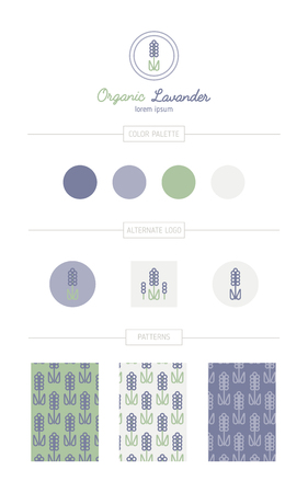 alternate: Pastel color palette, alternate , seamless patterns. For cosmetics, wedding invitations, print, textile.