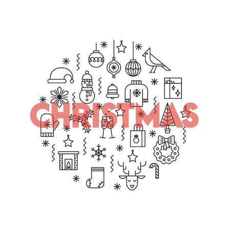 Kerst verkoop pictogram.