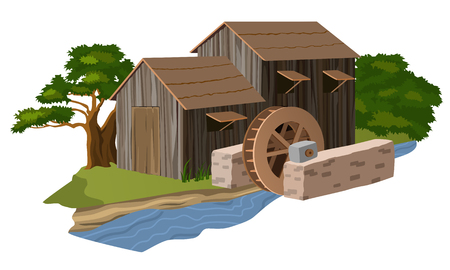 watermill: Water mill house