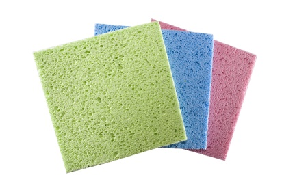 tree color cellulose wipes with big pores Stock Photo - 16500727