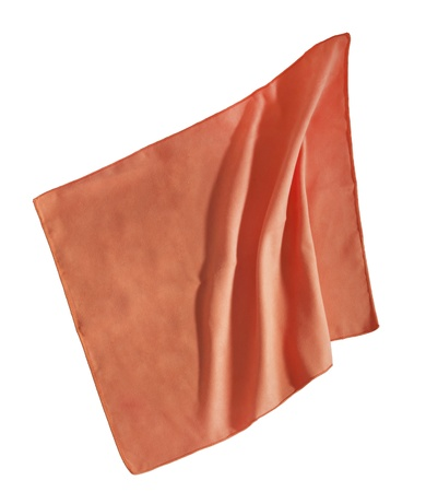 Orange napkin Stock Photo - 16572566