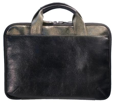 men's lather folder with golden handles Stock Photo - 16592862