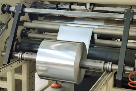 polyethylene film: reel aluminum baking foil production