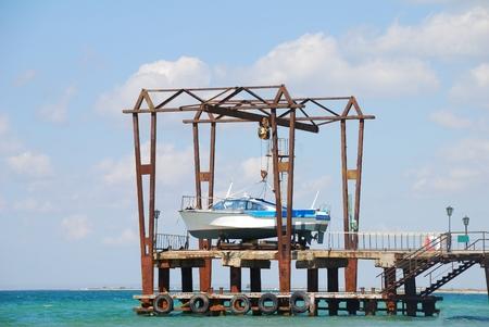 berth: ship repair and dry at berth in dock