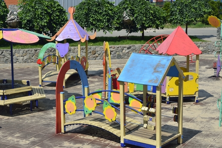 openspace: empty openspace nursery playground for children