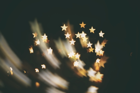 shooting star  abstract blur background ( kindle stars )