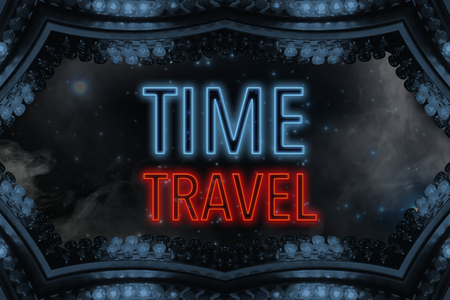 time machine: time travel (time machine for travel through time and space)