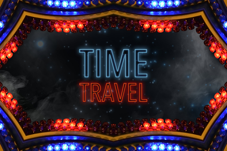 time travel: time travel (time machine for travel through time and space)