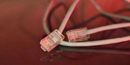 red fast ethernet (big information traffic  via  Internet)
