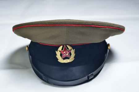 communism: ussa communism cap (Russian federation military force aggression ) Stock Photo