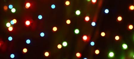 bokeh colorful background (dots light starflight) Reklamní fotografie