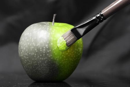 manzana agua: arte